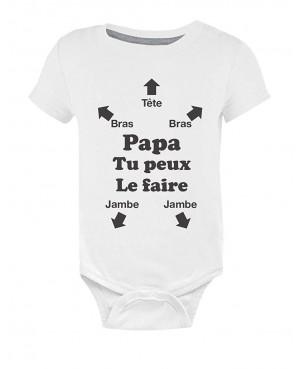 Body Bébé Papa Tu Peux Le Faire ! Futur Papa Naissance