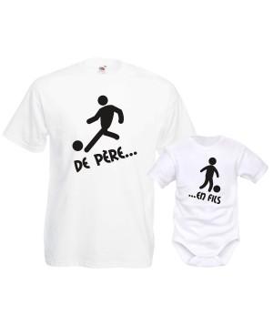 Ensemble pour bébé et papa...