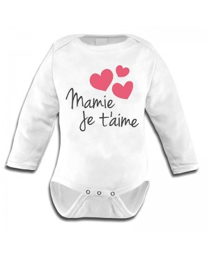 Body Bébé mamie je t'aime - Cadeau mamie