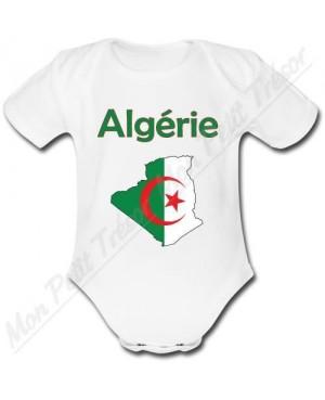 Body Bébé Algérie Carte