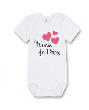 Body Bébé mamie je t'aime -...