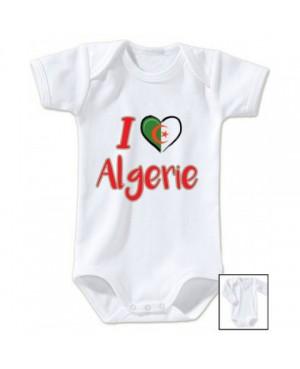 Body Bébé i love algérie