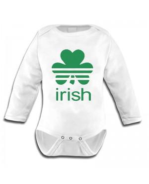 Body Bébé irlandais St. Patrick's Day Clover