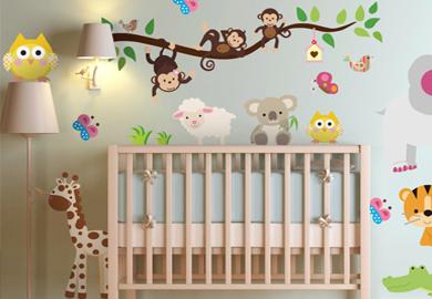 Stickers déco chambre bébé